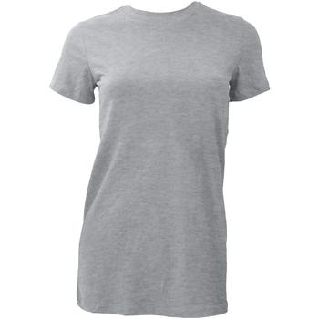 Vêtements Femme T-shirts manches courtes Bella + Canvas BE6004 Gris clair
