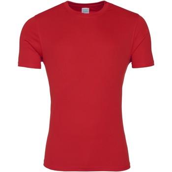 Vêtements Homme T-shirts manches courtes Awdis JC020 Rouge feu