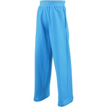 Vêtements Enfant Pantalons de survêtement Awdis JH71J Bleu saphir