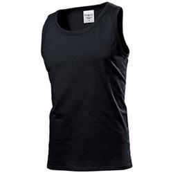 Vêtements Homme Débardeurs / T-shirts sans manche Stedman Classic Noir