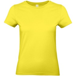 Vêtements Femme T-shirts manches courtes B And C E190 Jaune clair