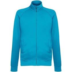 Vêtements Homme Vestes de survêtement Fruit Of The Loom SS928 Bleu azur