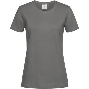 Vêtements Femme T-shirts manches courtes Stedman Classics Acier