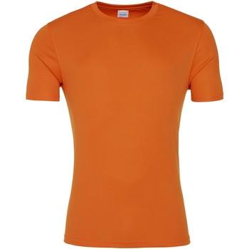 Vêtements Homme T-shirts manches courtes Awdis JC020 Orange pressée