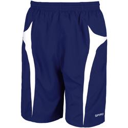 Vêtements Homme Shorts / Bermudas Spiro S184X Bleu marine/Blanc