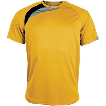 Vêtements Homme T-shirts manches courtes Kariban Proact Proact Jaune/Noir/Gris