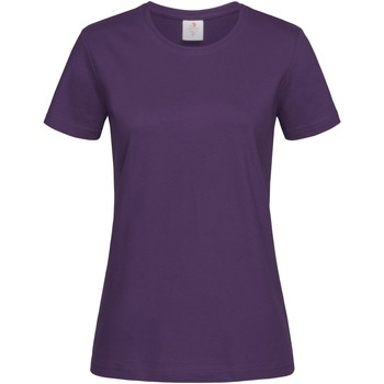 Vêtements Femme T-shirts manches courtes Stedman Classics Violet