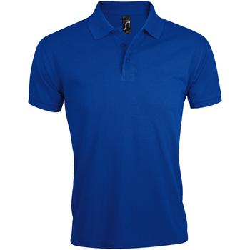 Vêtements Homme Polos manches courtes Sols Prime Bleu roi