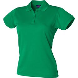 Vêtements Femme Polos manches courtes Henbury Coolplus Vert tendre