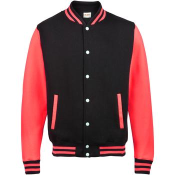 Vêtements Enfant Blousons Awdis Varsity Noir/Rouge