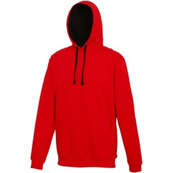 Vêtements Sweats Awdis Hooded Rouge vif / noir