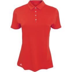 Vêtements Femme Polos manches courtes adidas Originals AD029 Rouge