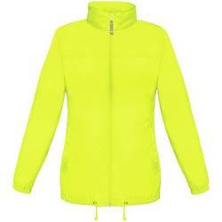 Vêtements Femme Coupes vent B And C Showerproof Jaune