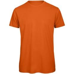 Vêtements Homme T-shirts manches courtes B And C Organic Orange foncé
