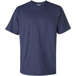 Vêtements Homme T-shirts manches courtes Gildan Ultra Bleu marine chiné