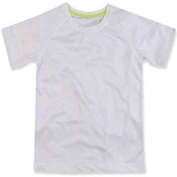 Vêtements Enfant T-shirts manches courtes Stedman Raglan Blanc