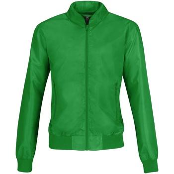 Vêtements Femme Blousons B And C Bomber Vert/Orange