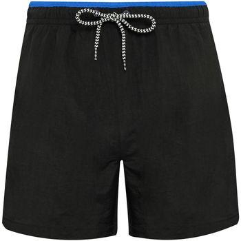 Vêtements Homme Maillots / Shorts de bain Asquith & Fox AQ053 Noir / bleu roi