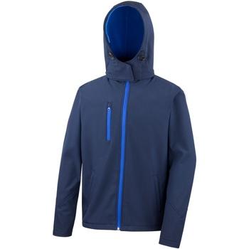Vêtements Homme Coupes vent Result R230M Bleu marine/Bleu roi