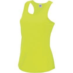 Vêtements Femme Débardeurs / T-shirts sans manche Just Cool Girlie Jaune électrique