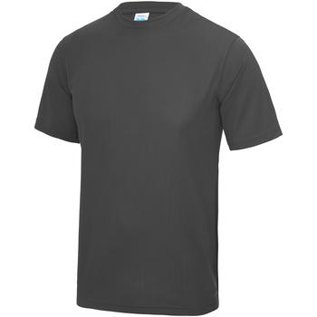 Vêtements Enfant T-shirts manches courtes Just Cool JC01J Gris foncé
