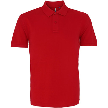 Vêtements Homme Polos manches courtes Asquith & Fox AQ010 Rouge cardinal
