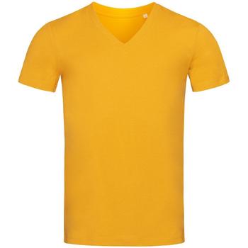 Vêtements Homme T-shirts manches courtes Stedman Stars Organic Jaune moutarde