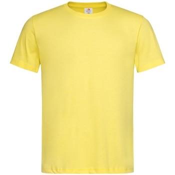 Vêtements Homme T-shirts manches courtes Stedman Classics Jaune foncé