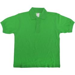 Vêtements Enfant Polos manches courtes B And C PK486 Vert