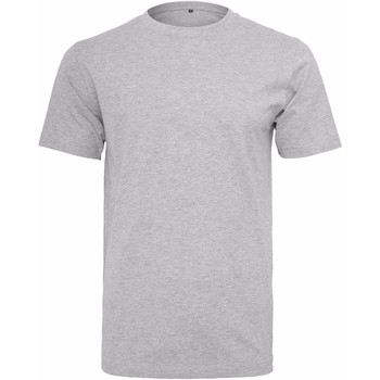 Vêtements Homme T-shirts manches courtes Build Your Brand Round Neck Gris