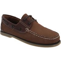 Chaussures Homme Chaussures bateau Dek Moccasin Nubuck marron