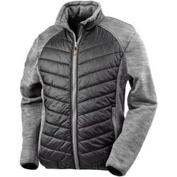 Vêtements Homme Doudounes Result R314X Noir / gris