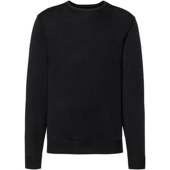 Vêtements Homme Pulls Russell Pull tricoté à col rond RW6079 Noir