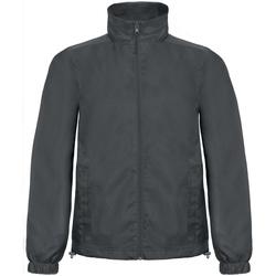 Vêtements Homme Coupes vent B And C ID.601 Gris foncé