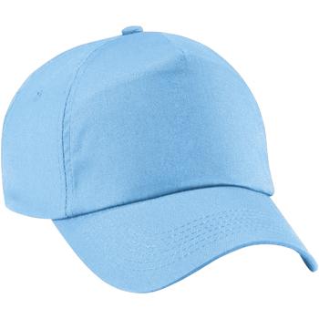 Accessoires textile Fille Casquettes Beechfield Baseball Bleu ciel