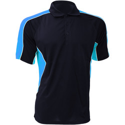Vêtements Homme Polos manches courtes Gamegear KK938 Bleu marine/Bleu clair