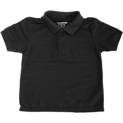 Vêtements Enfant Polos manches courtes Gildan 72800B Noir