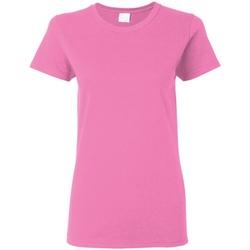 Vêtements Femme T-shirts manches courtes Gildan Missy Fit Rose