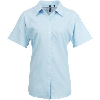 Vêtements Femme Chemises / Chemisiers Premier Oxford Bleu clair