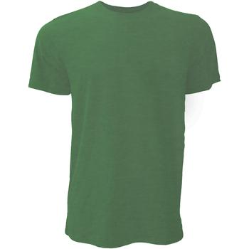 Vêtements Homme T-shirts manches courtes Bella + Canvas Jersey Vert forêt chiné