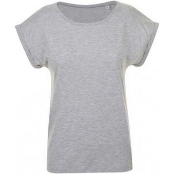 Vêtements Femme T-shirts manches courtes Sols Melba Gris chiné