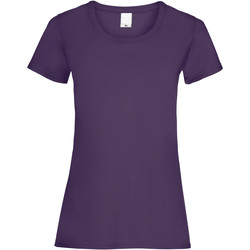 Vêtements Femme T-shirts manches courtes Universal Textiles Casual Raisin