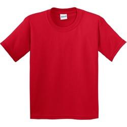 Vêtements Enfant T-shirts manches courtes Gildan 64000B Rouge