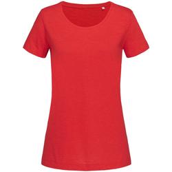 Vêtements Femme T-shirts manches courtes Stedman Stars Sharon Rouge