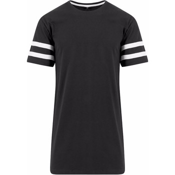 Vêtements Homme T-shirts manches courtes Build Your Brand Jersey Noir/Blanc