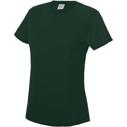 Vêtements Femme T-shirts manches courtes Just Cool JC005 Vert bouteille