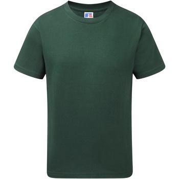 Vêtements Garçon T-shirts manches courtes Jerzees Schoolgear J155B Vert bouteille