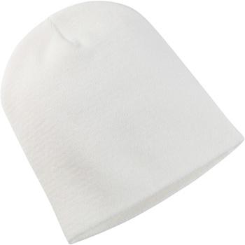 Accessoires textile Bonnets Yupoong YP013 Blanc