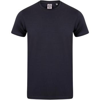 Vêtements Enfant T-shirts manches courtes Skinni Fit Stretch Bleu marine