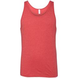 Vêtements Femme Débardeurs / T-shirts sans manche Bella + Canvas Jersey Rouge Triblend